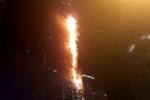 Cháy khủng khiếp ở tháp Torch Tower 79 tầng tại Dubai khi tờ mờ sáng