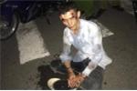 Cảnh sát giao thông truy đuổi tên cướp xe máy như phim hành động