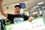 Người đàn ông trúng xổ số 10 triệu USD nhờ 1 cơn mưa
