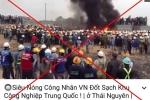 Điều tra, xử lý kẻ tung tin bịa đặt công nhân Việt Nam đốt khu công nghiệp Trung Quốc
