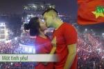 Những kiểu ăn mừng 'bá đạo' của CĐV sau kỳ tích của U23 Việt Nam