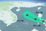 Áp thấp nhiệt đới có thể mạnh lên thành bão số 13