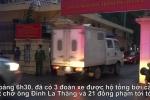 Video: Đoàn xe chở ông Thăng và 21 đồng phạm