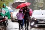 Không khí lạnh tiếp tục ảnh hưởng, Hà Nội trời mưa rét