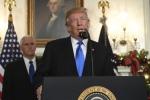 Tổng thống Trump công nhận Jerusalem là thủ đô Israel