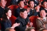 Ảnh vợ ông Kim Jong-un xuất hiện trong lễ ăn mừng thử thành công bom nhiệt hạch