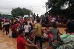 Vỡ đập thủy điện ở Lào: Ít nhất 20 người thiệt mạng và hàng trăm người vẫn mất tích