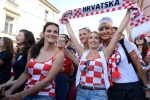 Nhung co nang Croatia xinh dep khan giong voi nguoi hung World Cup hinh anh 2