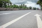 Ảnh: Chi chít ổ gà trên đoạn quốc lộ đầu tư 300 tỷ đồng của BOT Cai Lậy