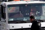 Cảnh tượng khủng khiếp khi khủng bố lái xe tải đâm chết binh sĩ ở Jerusalem