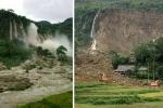 Hình ảnh thác nước hùng vĩ trước và sau khi vùi lấp 18 người ở Hòa Bình