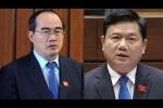 Chuyển đoàn đại biểu Quốc hội với ông Nguyễn Thiện Nhân, Đinh La Thăng