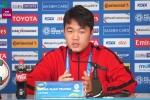 Xuân Trường: 'Đội tuyển sẽ đá hết mình vì danh dự quốc gia'