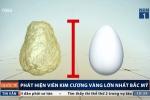 Phát hiện viên kim cương vàng to như trứng gà ở Bắc Mỹ