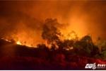 Cháy rừng ở Sóc Sơn Hà Nội: Hơn 2.000 người trắng đêm dập lửa