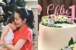 Tăng Thanh Hà tự tay làm quà đặc biệt mừng sinh nhật con gái 1 tuổi