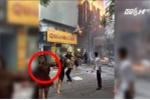 Cô gái cởi áo ngực bịt mũi chạy thoát khỏi đám cháy: Sao lại xôn xao tranh cãi làm gì?