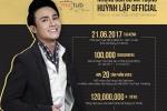Sau Tran Thanh, Huynh Lap la nghe si hai thu 2 duoc nhan Nut vang Youtube hinh anh 1