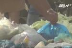 Kinh hoàng rau nhặt từ bãi rác bán tại chợ dành cho công nhân