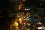 Cháy lớn tại kho hàng xăng dầu cảng Sài Gòn giữa khuya