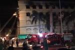 Công ty may Kwong Lung Meko Cần Thơ lại bùng cháy dữ dội