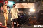 Xe tải lấn làn tông xe máy, 2 vợ chồng thương vong