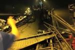 Cầu ở Sài Gòn sập trong đêm, hàng loạt phương tiện rơi xuống sông