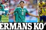 Hàn Quốc tạo siêu địa chấn, sút bay Đức khỏi World Cup 2018