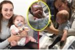 Video: Sau 2 ngày viêm họng, bé trai 11 tháng tuổi hoại tử hết tay chân