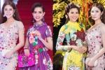 Á hậu Hoàng Hạnh tự tin đọ vẻ gợi cảm với Phan Thị Mơ, Nguyễn Thị Thành