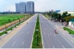 Toàn cảnh tuyến đường mới với 8 làn xe ở Hà Nội