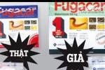 Cách phân biệt thuốc tẩy giun Fugacar giả và thật