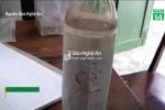 Cận cảnh chai rượu kịch độc khiến 3 người chết ở Nghệ An