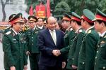 Thủ tướng kiểm tra công tác ứng trực tại Bộ Tư lệnh Thủ đô