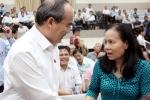 Bí thư Nguyễn Thiện Nhân: Sẽ có cầu đi bộ từ quận 1 qua Thủ Thiêm