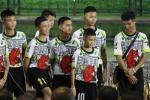 Video: Doi bong Thai Lan cuoi rang ro, da thu bong trong buoi hop bao hinh anh 1