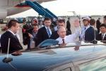 Hình ảnh đầu tiên của Tổng thống Putin ở Hà Nội