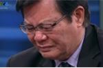 Quá tự hào, Chủ tịch Hội đồng HLV Quốc gia bật khóc trên sóng truyền hình