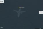 Ảnh vệ tinh làm lộ máy bay bí ẩn nằm dưới đáy bờ biển Anh