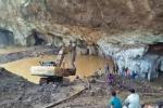 Sập mỏ khai thác vàng ở Hòa Bình, hai người mắc kẹt