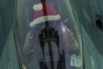 Phi công Mỹ đội mũ ông già Noel không kích IS