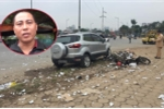 Clip: Tài xế taxi kể phút kinh hoàng xe 'điên' tông loạt xe máy ở Hà Nội, thoát chết trong gang tấc