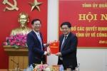 Bí thư Huyện ủy Bình Liêu được bổ nhiệm làm Giám đốc Trung tâm Truyền thông Quảng Ninh