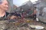 Bão số 10 tàn phá Hà Tĩnh, dân nghèo khóc than: 'Sập hết cả rồi, chả còn chi cả'