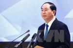 Chủ tịch nước gửi điện thăm hỏi Chủ tịch Tập Cận Bình sau vụ sạt lở đất ở Trung Quốc