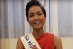 Hoa hậu Hoàn vũ Việt Nam H'Hen Niê chúc mừng chiến thắng của U23 Việt Nam