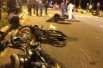 Tai nạn liên hoàn giữa 8 xe máy, người bị thương nằm la liệt