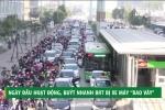 'Ma trận' xe máy bủa vây xe buýt nhanh BRT ngày đầu hoạt động