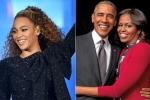 Vợ chồng cựu Tổng thống Obama đến xem show diễn của Beyonce