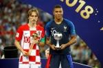 Modric hay nhất World Cup 2018, Mbappe là Cậu bé vàng